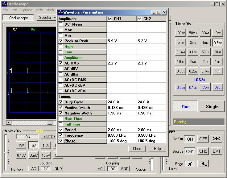 Testing PIC 16F690 PWM 4 multiplexed channels